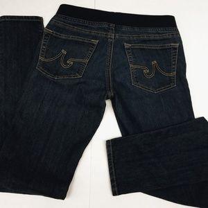 AG Goldschmied Rosebud Pull-On Skinny Jeans